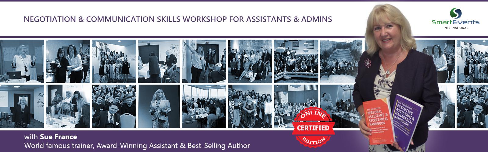 Negotiation & Communication Skills Workshop for Assistants & Admins